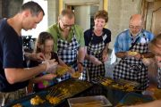balinese cooking class in ubud for the whole family