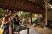 leading ubud balinese cooking class for the entire family