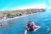 snorkeling in bali - ahmed