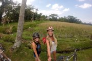 bali eco cycling tour with your friends the best way to see Bali