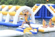 Bali wake park obstacle course