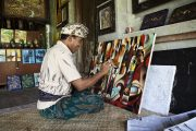 traditional painters is a must see when visiting bali