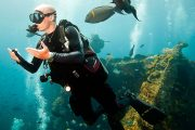 the best scuba diving in bali at tulamben wreck