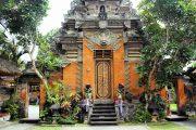 Ubud royal palace is a must see when visiting bali