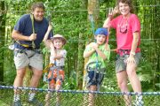 Bali tree top adventures for all the family
