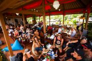 bali wake park chill at the bar