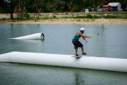 bali wake park sliding