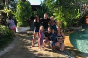 waterbom park bali family group